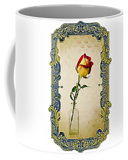 A Single Rose Coffee Mug by Larry Bishop