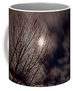 Coffee Mug featuring the photograph A Sky In Motion by Mick Anderson
