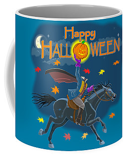 A Sleepy Hollow Halloween Coffee Mug