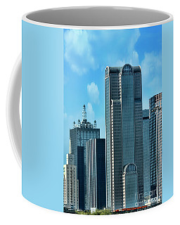 Coffee Mug featuring the photograph A Slice Of Dallas by Joan Bertucci