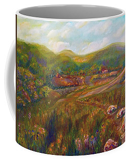 Coffee Mug featuring the painting A Special Place by Claire Bull