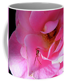 A Spider And A Rose Coffee Mug