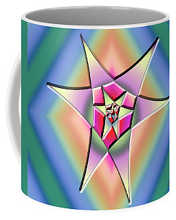 Coffee Mug featuring the digital art A Splash Of Color 1 by Chuck Staley