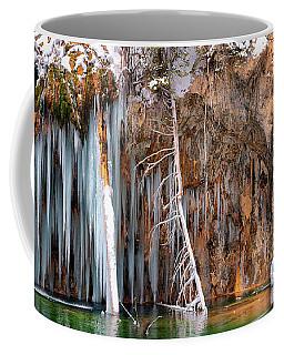 A Spring That Knows No Summer. - Hanging Lake Print Coffee Mug