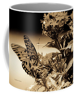 Coffee Mug featuring the photograph A Springtime Ago by DigiArt Diaries by Vicky B Fuller