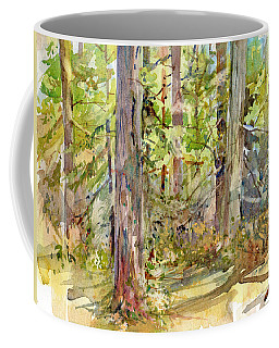 A Stand Of Trees Coffee Mug