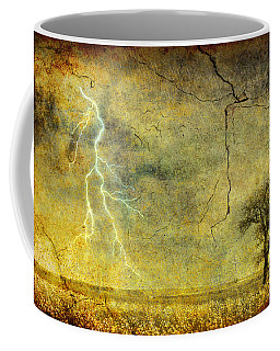 Coffee Mug featuring the photograph A Stormy Spring by Silvia Ganora