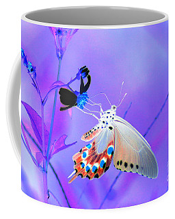 A Strange Butterfly Dream Coffee Mug