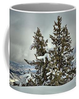 A Strip Of Mountains Coffee Mug