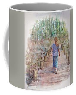 A Strole On The Boardwalk Coffee Mug