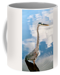 Coffee Mug featuring the photograph A Stroll Among The Clouds by Christopher Holmes