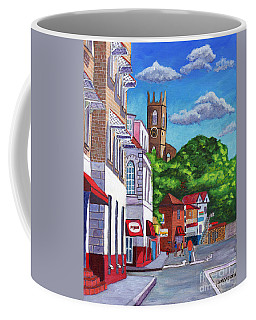 A Stroll On Melville Street Coffee Mug