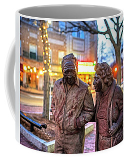A Stroll Through Davis Square Somerville Ma Coffee Mug
