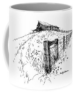 A Strong Fence And Weak Barn Coffee Mug