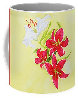 A Study Of Lilies Coffee Mug