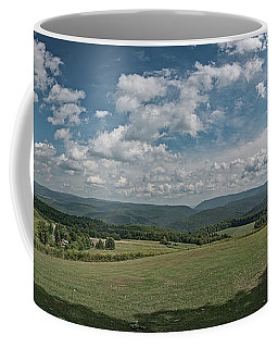 Coffee Mug featuring the photograph A Summer Day In Pa by Guy Whiteley
