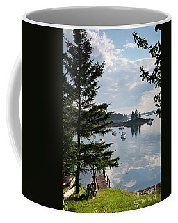 A Summer Day In Port Clyde, Maine #8513 Coffee Mug
