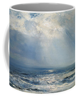 A Sunbeam Over The Sea Coffee Mug