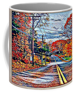 A Sunday Ride Coffee Mug by MaryLee Parker