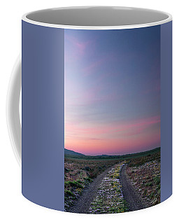 A Sunrise Path Coffee Mug by Leland D Howard