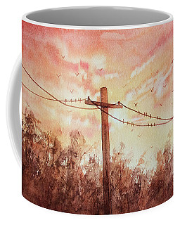 A Sunset For The Birds Coffee Mug