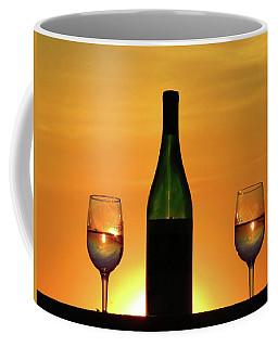 A Sunset In Each Glass Coffee Mug