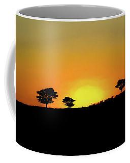 A Sunset In Namibia Coffee Mug