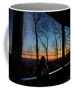 A Sunset View Coffee Mug