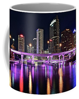 A Tampa Night Coffee Mug by Frozen in Time Fine Art Photography