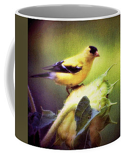Coffee Mug featuring the photograph A Taste For Sunflowers by Ola Allen