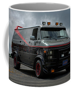 A-team Van Tribute Vehicle Coffee Mug
