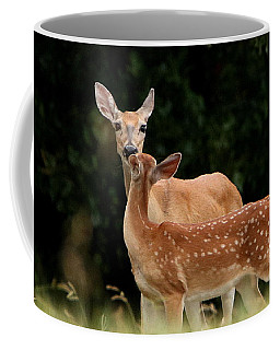 A Tender Moment Coffee Mug by Sheila Brown