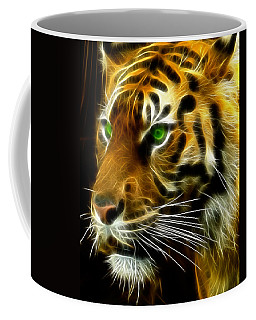 A Tiger's Stare Coffee Mug