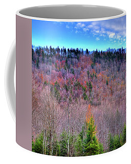 Coffee Mug featuring the photograph A Touch Of Autumn by David Patterson