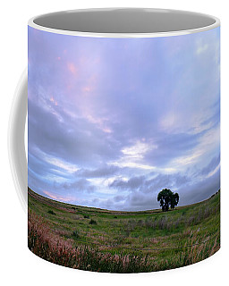 Coffee Mug featuring the photograph A Touch Of Pink Sky by Monte Stevens
