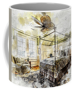 A Traditional Bedroom Coffee Mug