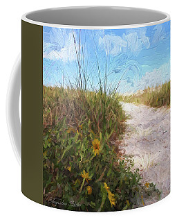 A Trail To The Beach Coffee Mug