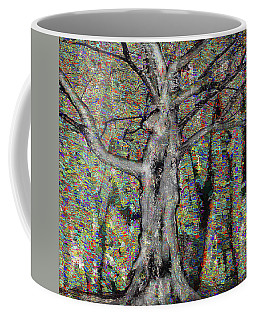 Coffee Mug featuring the photograph A Tree by Vladimir Kholostykh