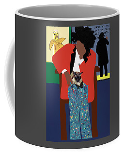 A Tribute To Jean-michel Basquiat Coffee Mug