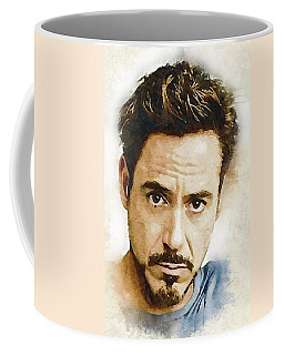 A Tribute To Robert Downey Jr. Coffee Mug