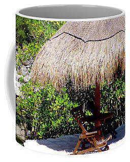Coffee Mug featuring the photograph A Tropical Place To Relax by Francesca Mackenney