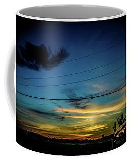 A Trucker's View Coffee Mug