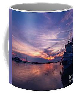 A Tugboat Sunset Coffee Mug
