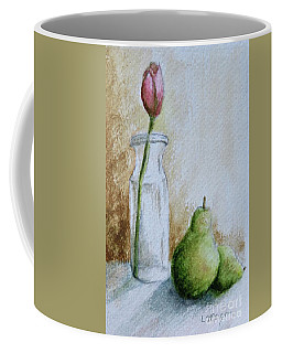 A Tulip And Two Pears Coffee Mug