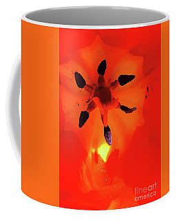 Coffee Mug featuring the photograph A Tulip's Secret Life by The Art of Alice Terrill