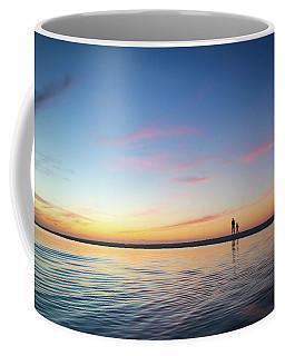 A Twilight Beach Walk Coffee Mug