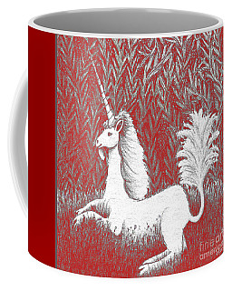 A Unicorn In Moonlight Tapestry Coffee Mug