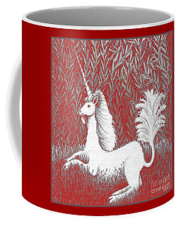 A Unicorn In Moonlight Tapestry Coffee Mug