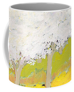 A Valley In Bloom Coffee Mug