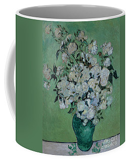 A Vase Of Roses Coffee Mug